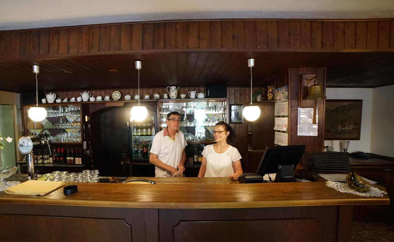 Das Gasthaus Zur Alten Mühle in Bacharach-Steeg